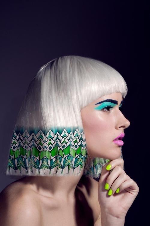 2015  The Newest  Most Unique Hair Color Trend  2015