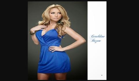 Actriz Geraldine Bazan Talento y Belleza Mexicana