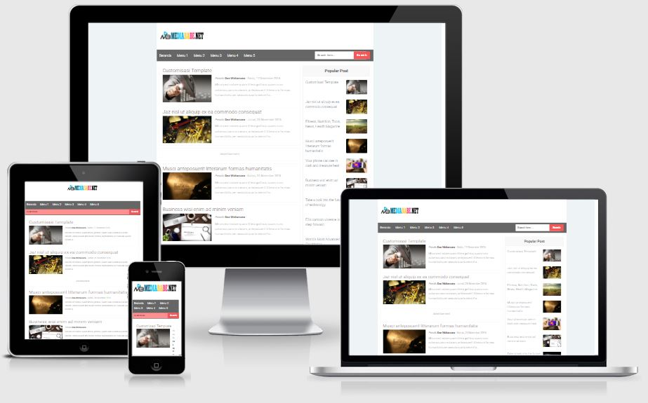 Gabeng AMP Template Fast Free AMP HTML Blogger Template