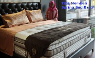 Tips Membeli Spring Bed Baru