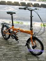 C Sepeda Lipat Langtu K016