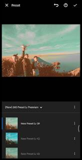 Cara Memasang Preset XMP di Adobe Lightroom Android Dengan Mudah