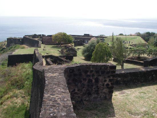 Fort Louis Delgrès à Basse Terre en Guadeloupe
