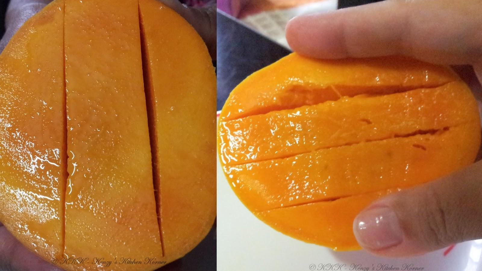 how to cut pitaya to make cuts