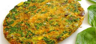 Spinach Omelet (Ispanakli Omlet)