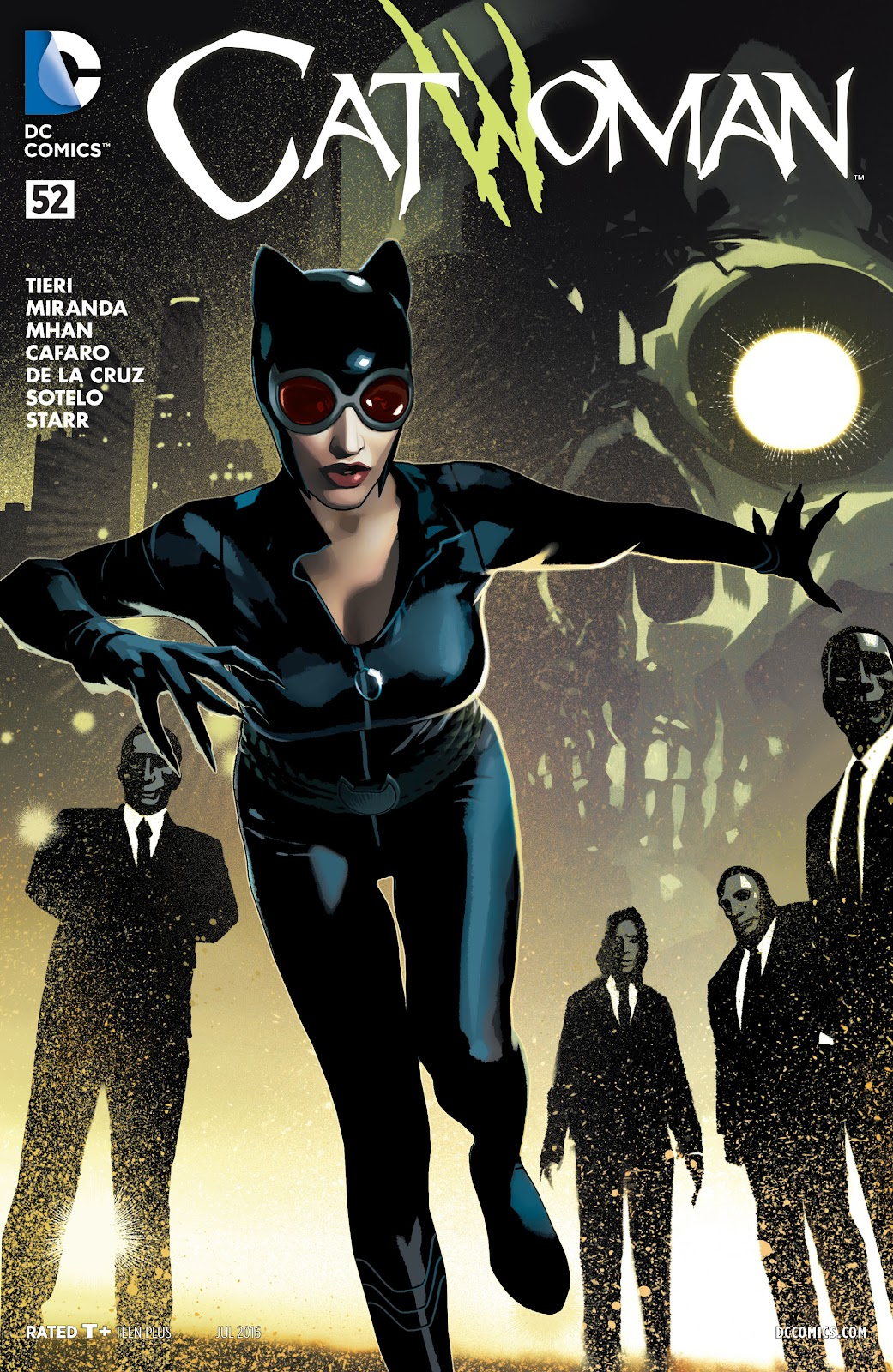 Catwoman (2011) issue 52 - Page 1