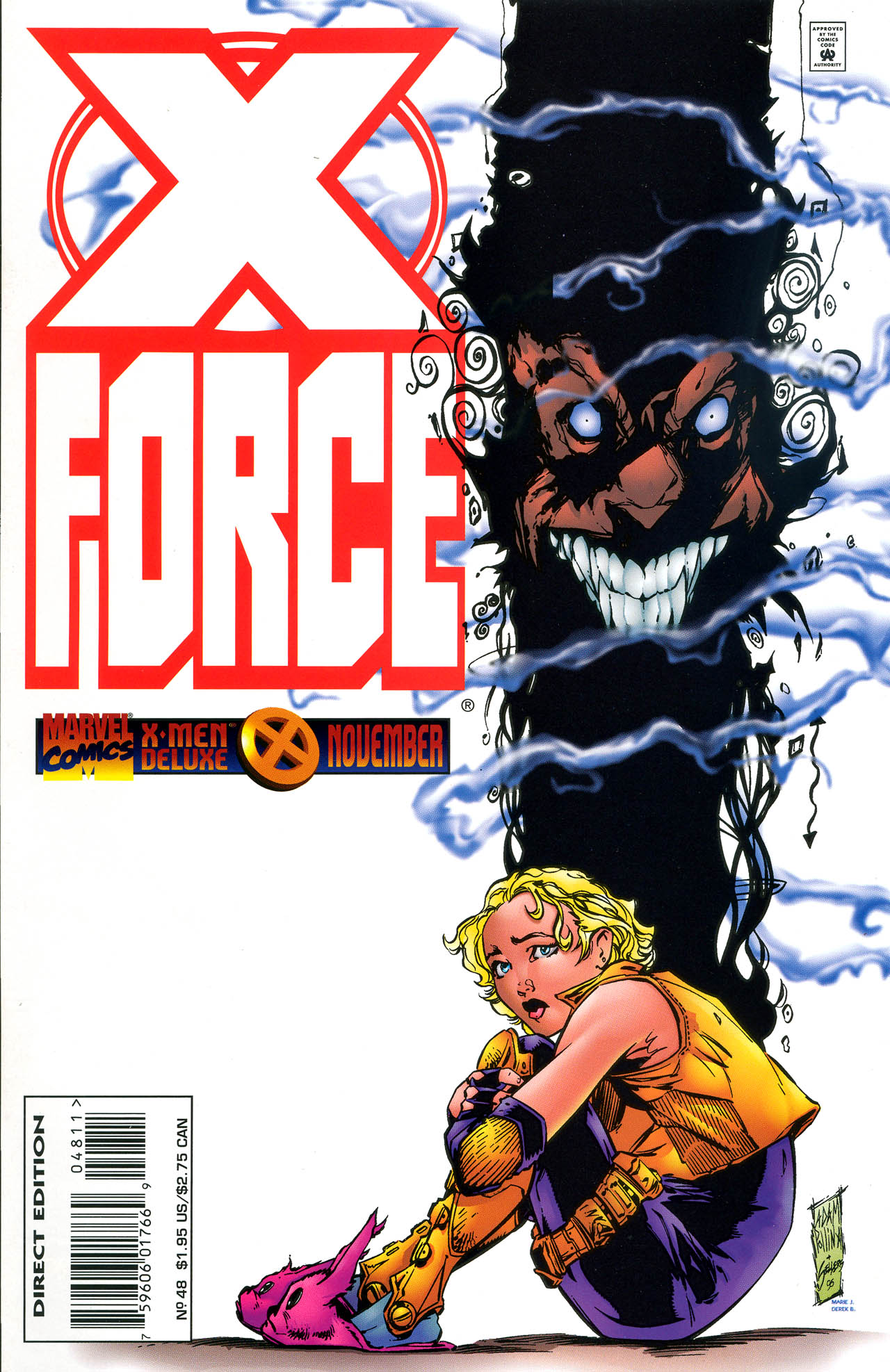 X-Force (1991) 48 Page 1