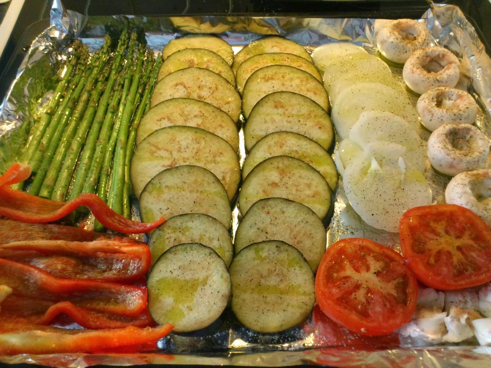 La tentaci n vive arriba parrillada de verduras al horno - Salsa para verduras al horno ...