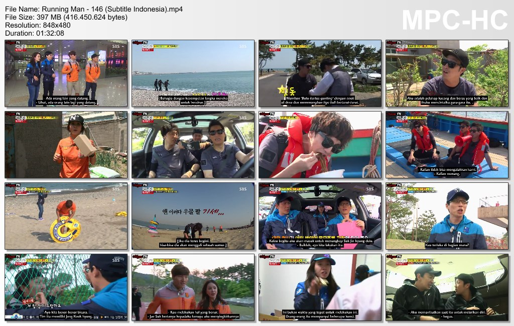 how to download running man video