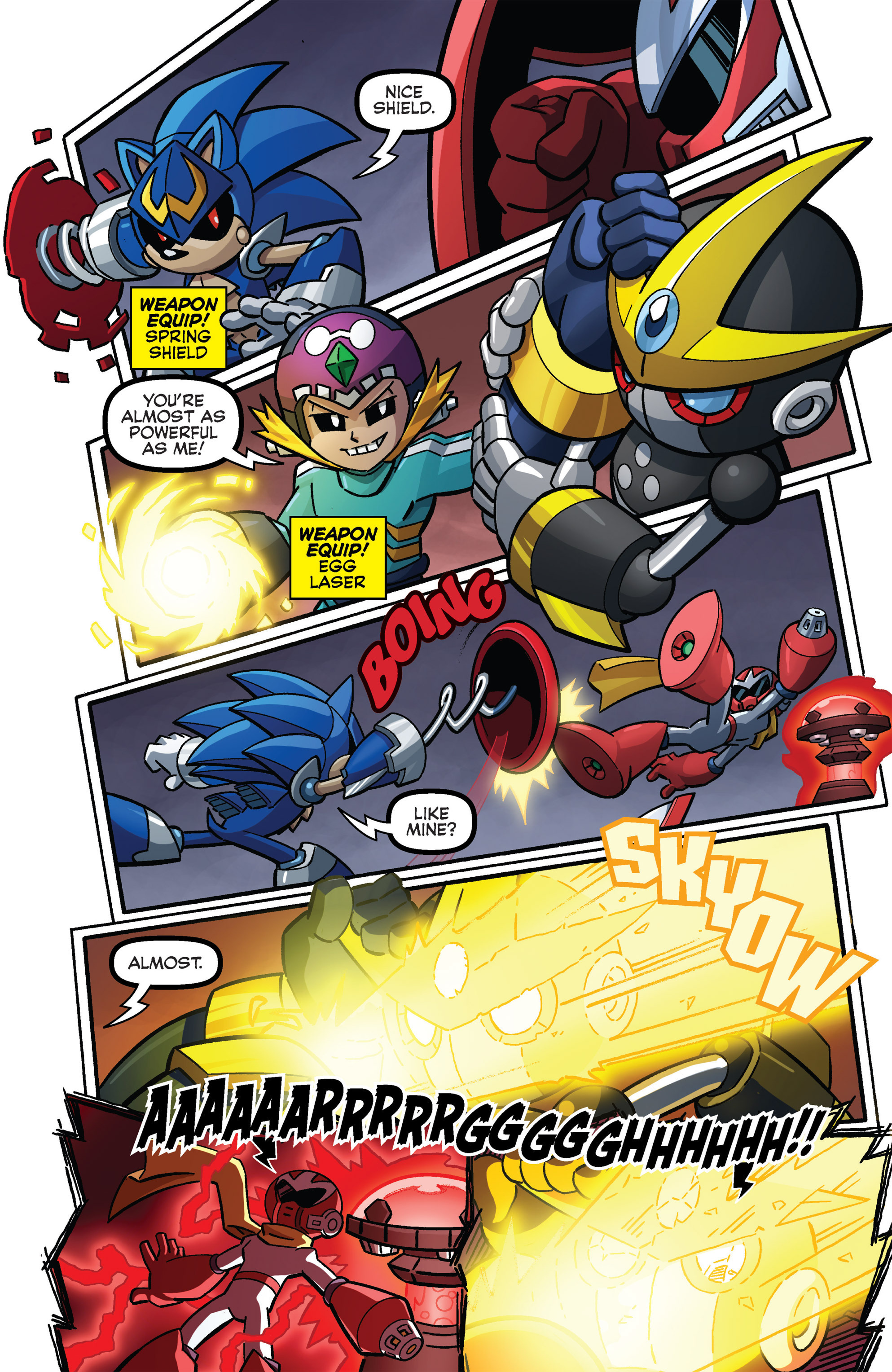 Read online Sonic The Hedgehog comic -  Issue #273 - 18