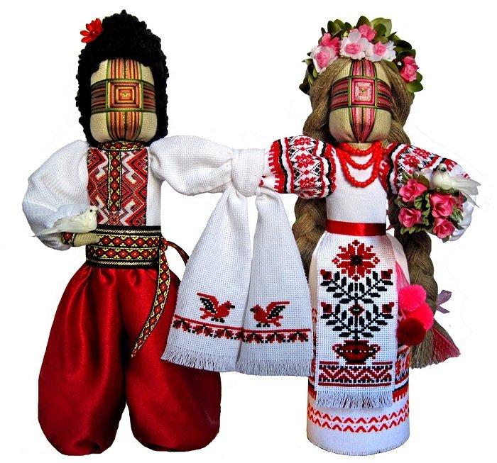 Пара куклы-мотанки