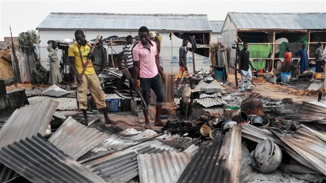 Boko Haram Takfiri terrorist group kills 14 in fresh attack in Nigeria's Maiduguri
