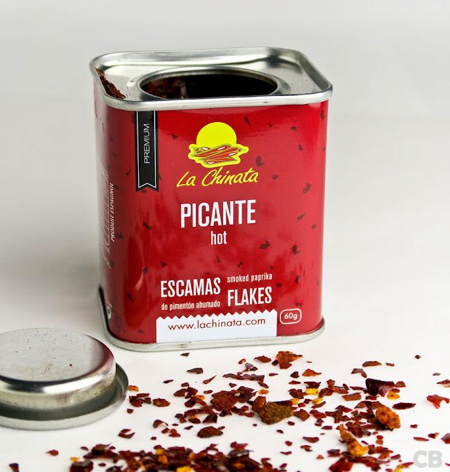 Pimentón-flakes