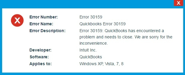How to Get Out of Trouble of Payroll Error 30159 in QuickBooks ?