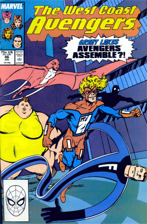 West Coast Avengers (1985) 46 Page 1