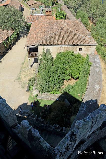 Vistas desde el Castillo de Granadilla