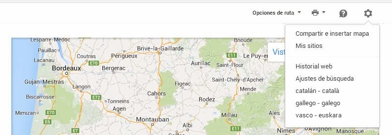 Google Maps rutas multidestino