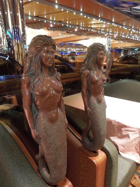 dining room mermaids