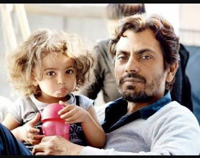 Nawazuddin Siddiqui with daughter
