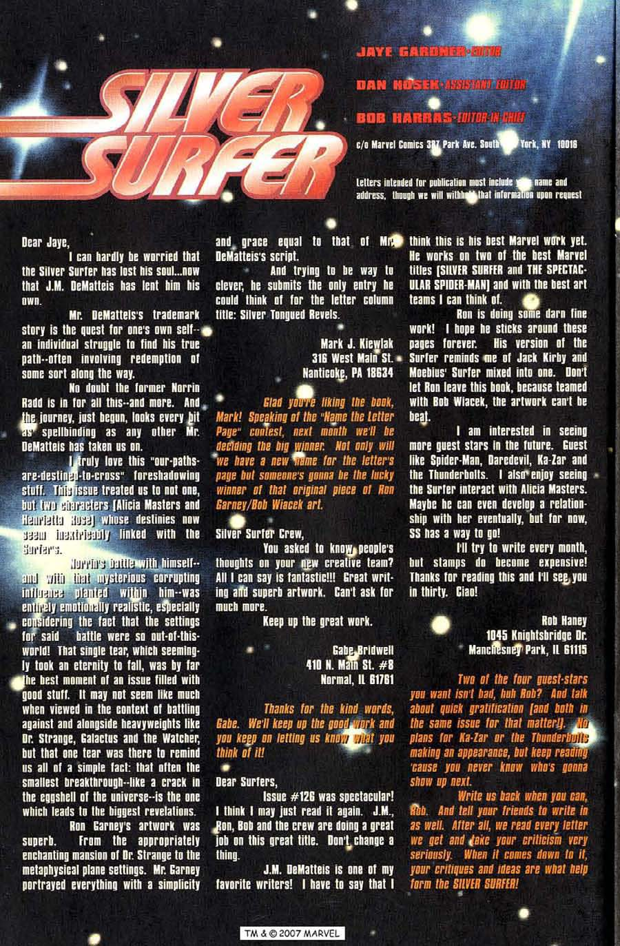 Read online Silver Surfer (1987) comic -  Issue #128 - 34