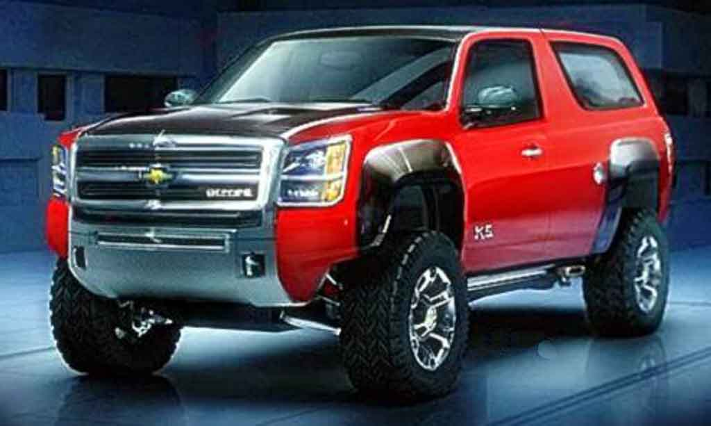 New Chevy Blazer 2016 Review Interior Concept Specs