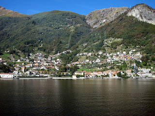 Photo of the town of Dongo in Northern Italy