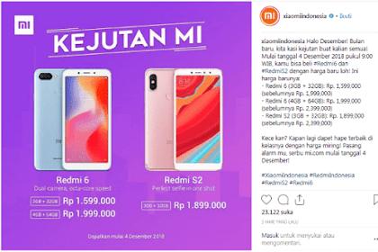 Xiaomi Diskon Harga Hingga Rp. 500 Ribu Jelang Harbolnas 12.12, untuk Smartphone ini