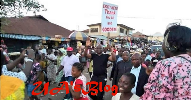 Gov. Fayose Leaves Ekiti For Abuja, Says He Won't Flee