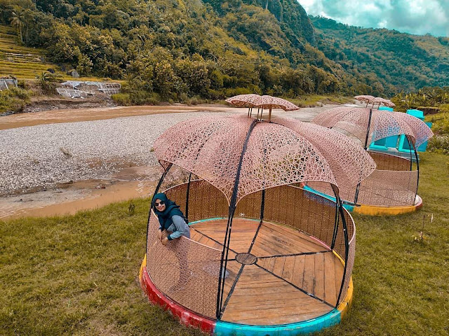 Wisata baru jogja - Tepi Kali Oya Selopamioro Bantul