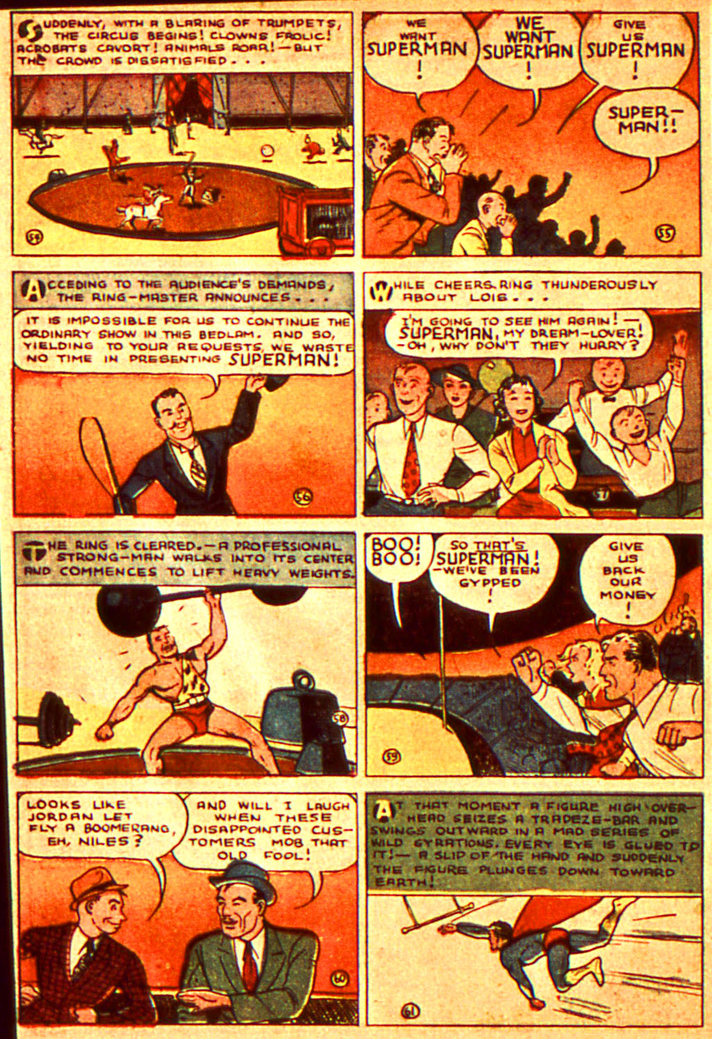 Read online Action Comics (1938) comic -  Issue #7 - 11