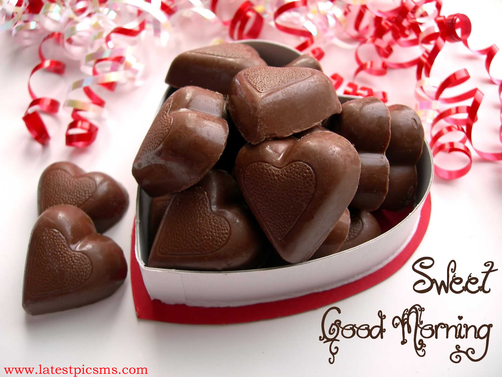 latest good morning wishes with sweets and choco image hd%2Bwallpaper free%2Bdownload - A Lovely and Fresh Good Morning HD Picture Messages for Whatsapp & Fb