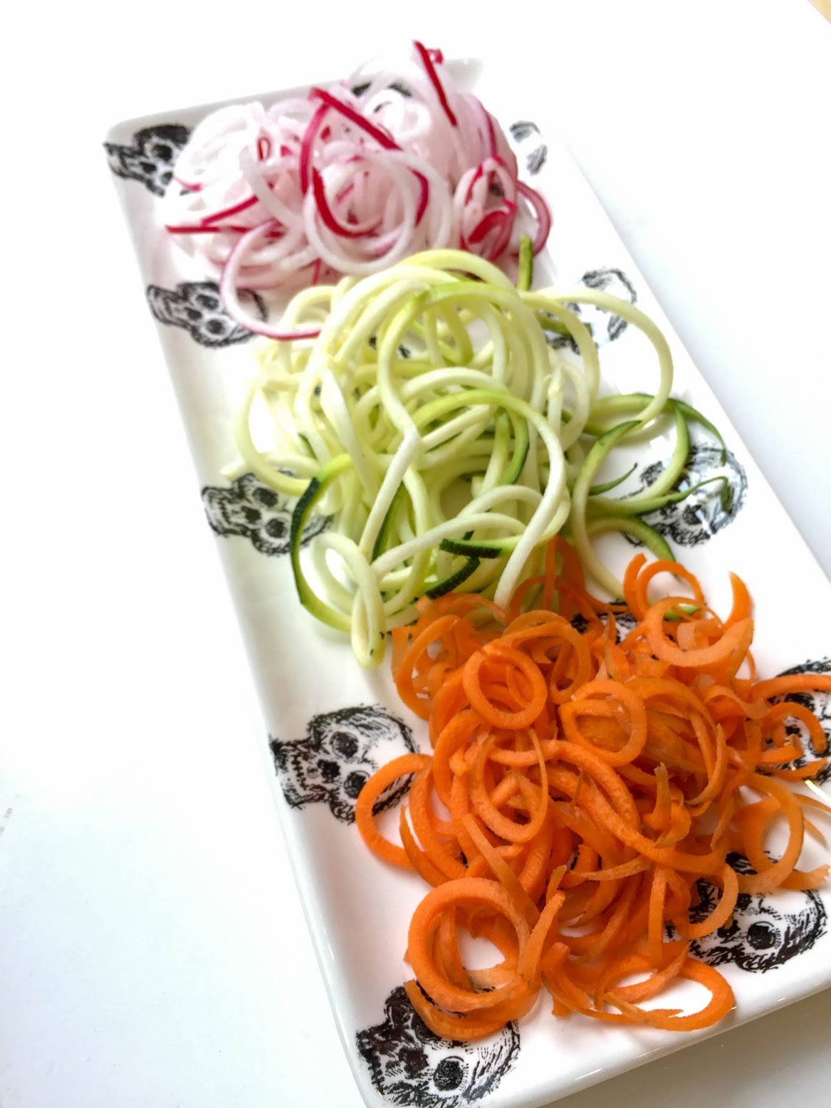 Maria P Spiralizing Or How To Pretend You Are Eating