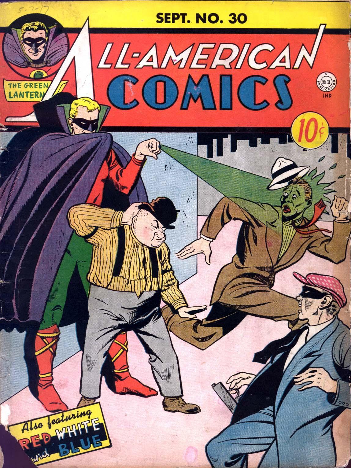 Read online All-American Comics (1939) comic -  Issue #30 - 1
