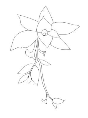 gambar ornamen pokok batik