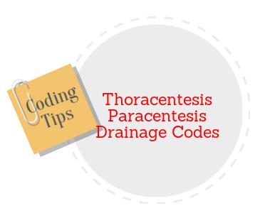 Amazing Tips for coding Thoracentesis and Paracentesis