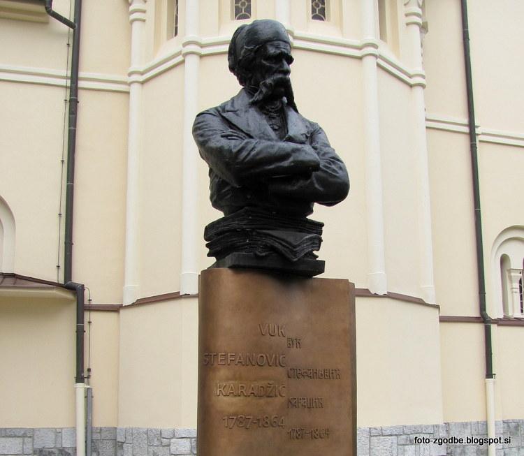 Vuk Stefanović Karađić, spomenik