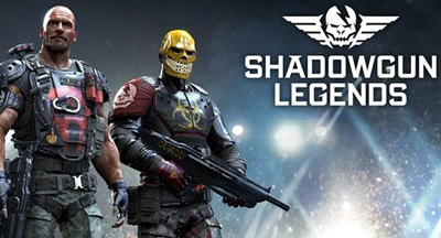 Download Shadowgun Legends Mod Apk + Data v0.6.1 God Mode Terbaru