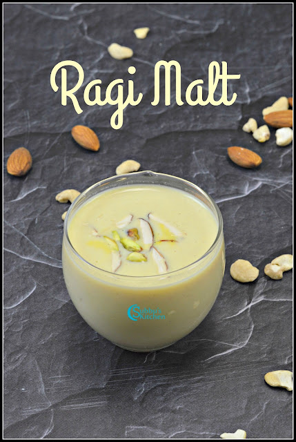 Homemade Ragi Malt Recipe