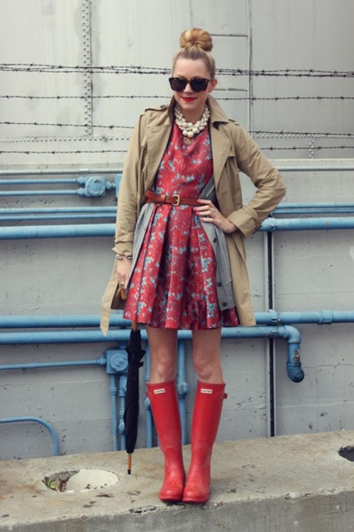 stivali da pioggia abito