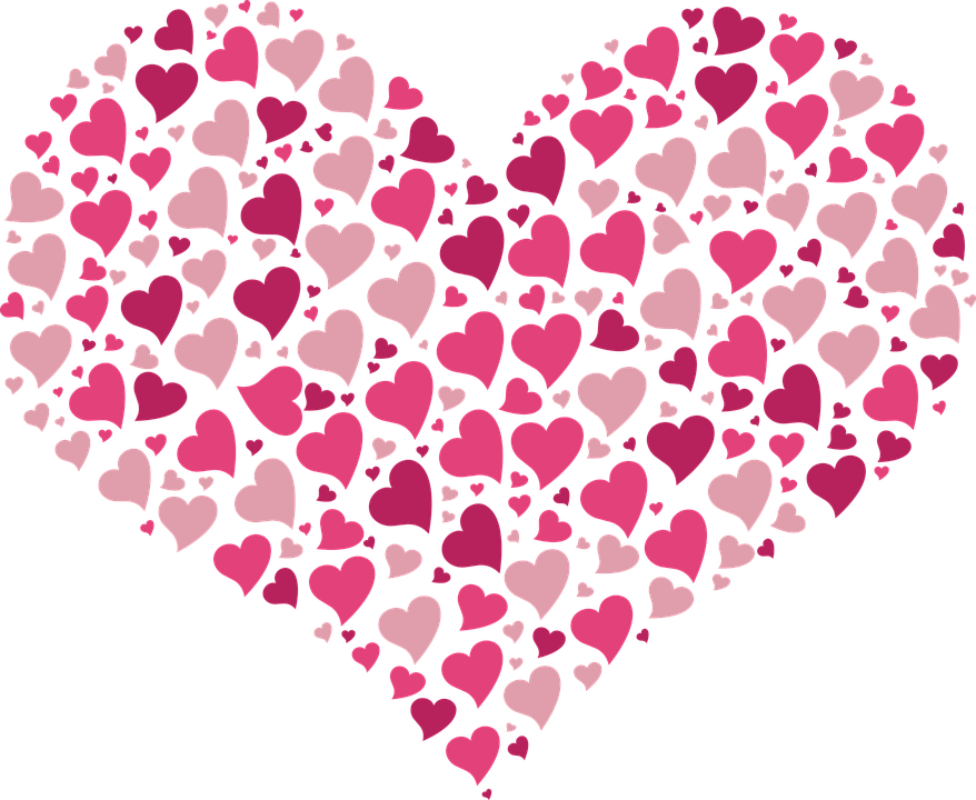 valentine hearts images clip art