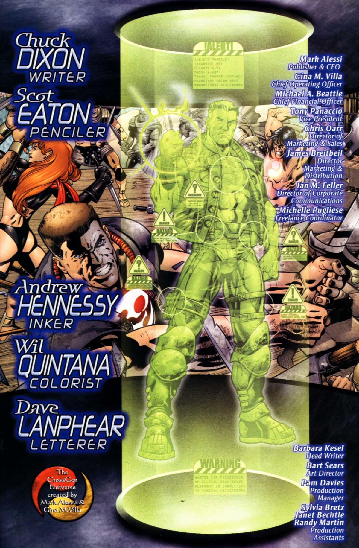Read online Sigil (2000) comic -  Issue #21 - 27