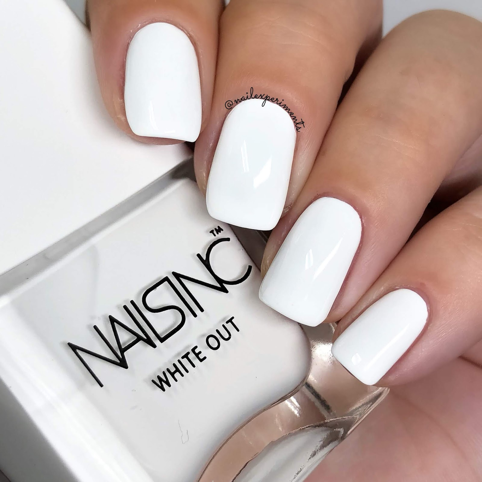 Nails Inc White Out Bright Ambition Summer 2018 Swatches
