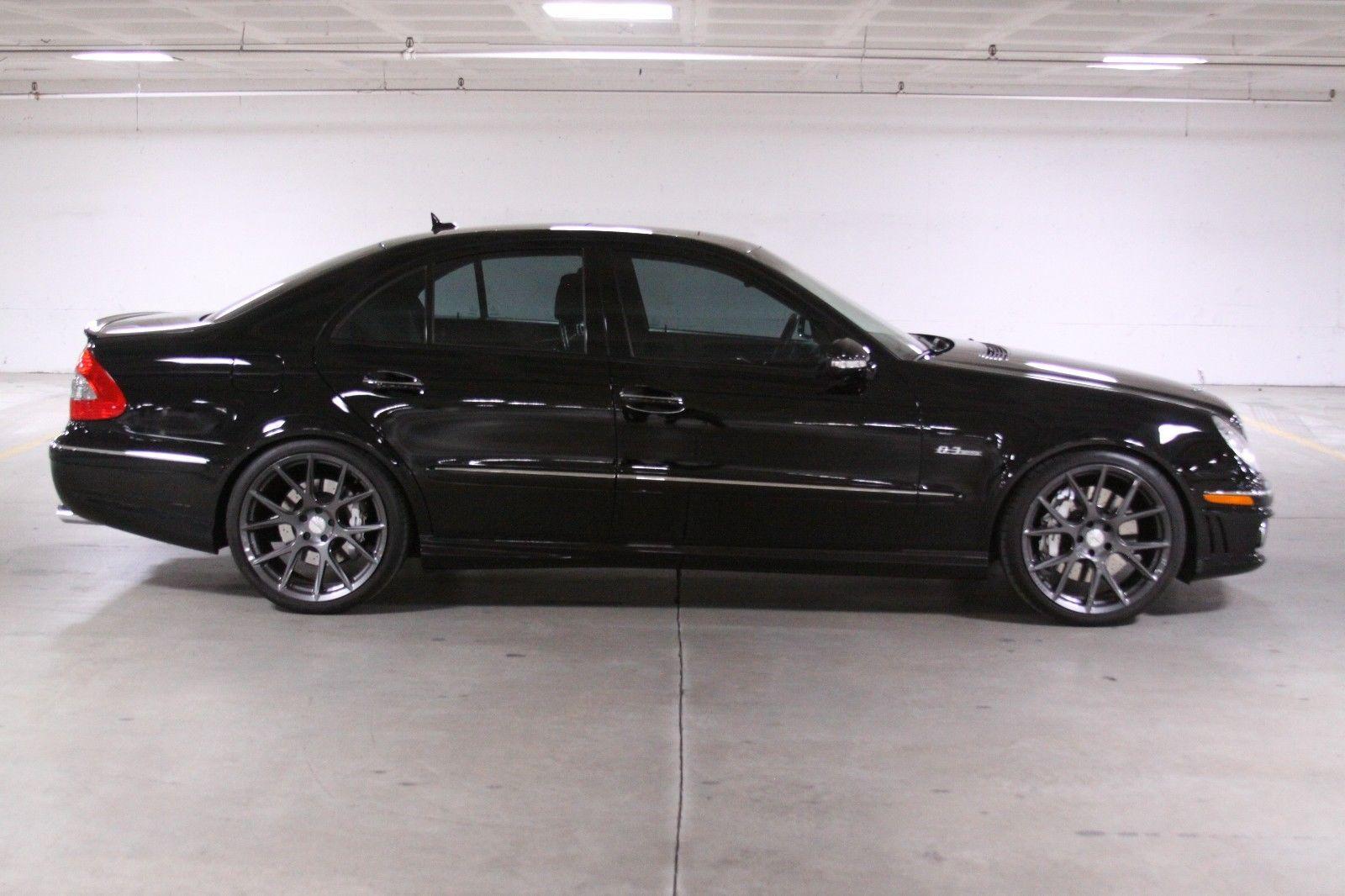 2007 mercedes benz w211 e63 amg on 20 vossen vfs6 wheels. Black Bedroom Furniture Sets. Home Design Ideas