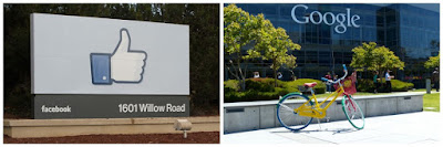 Facebook y Google en Palo Alto