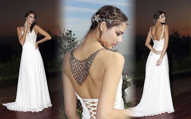 imagenes vestidos de novia playa
