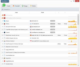 برنامج, مميز, لمراقبة, استهلاك, سرعة, الانترنت, GlassWire, اخر, اصدار