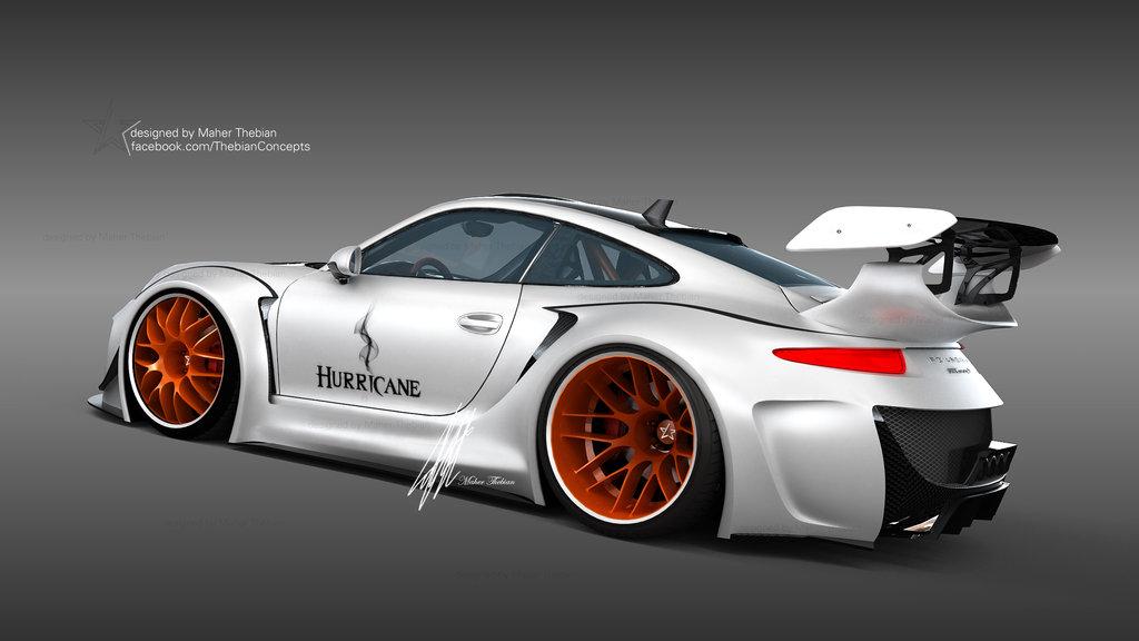 Monster Porsche Hurricane Concept Design: PROTOTIPURI: February 2014