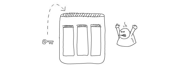 Secure website sketch