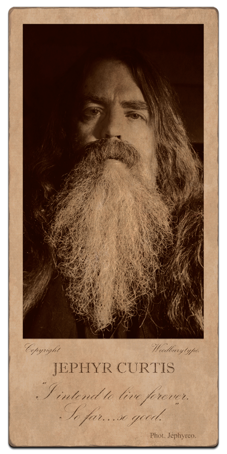 ART 270 - Photographic Process Imitation - Woodbury Type Cabinet Card - Copyright 2016 - Jephyr