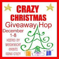 Crazy Christmas Giveaway Hop {hosted by Weidknecht Events Going Crazy} December 1-8